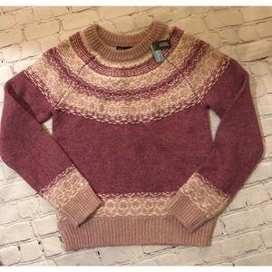 GAP Kids Crew Neck Pullover Wool Blend Sweater NWT